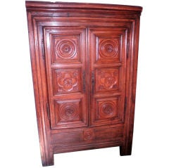 18th Century Chestnut Armoire