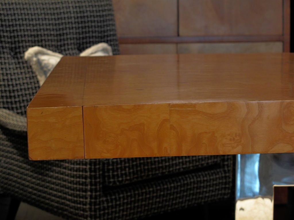 Dining Table Burlwood Dining Table