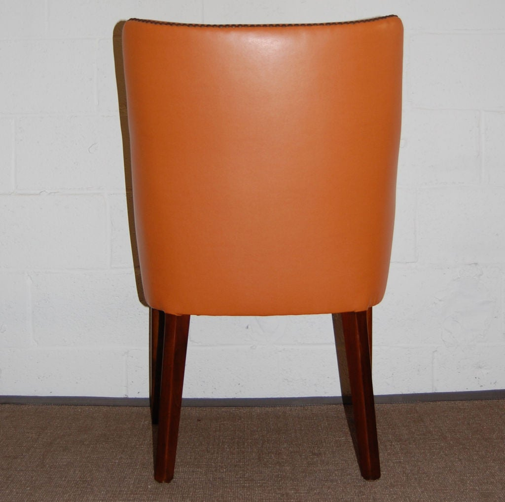 vintage danish mid century modern desk arm chair at 1stdibs