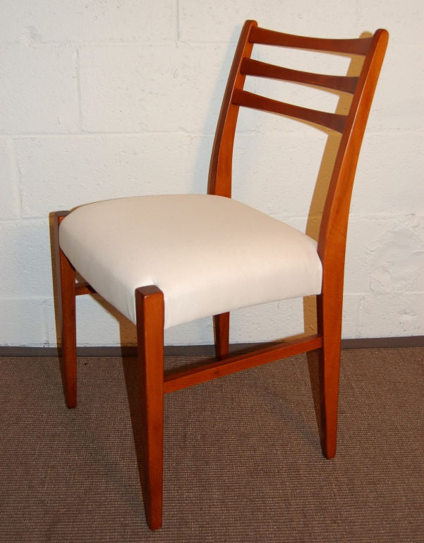 four swedish mid century modern teak dining chairs for sale at 1stdibs