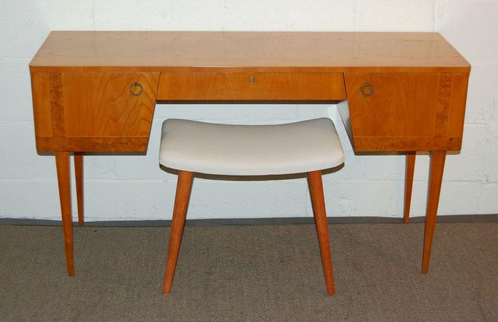 *SALE* Swedish Art Moderne Vanity Bench Stool At 1stdibs