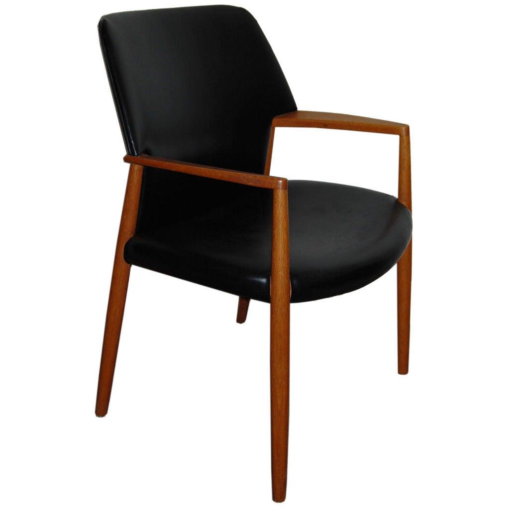 *SALE* Danish Mid-Century Modern Teak Arm Chair At 1stdibs