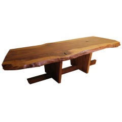 Free Edge Coffee Table By George Nakashima