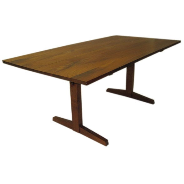 Superbe A Trestle Table By George Nakashima