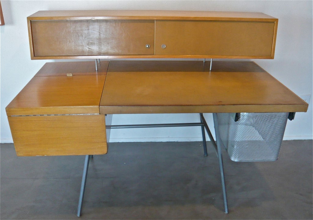 George nelson home office desk for herman miller at 1stdibs - Herman miller office desk ...
