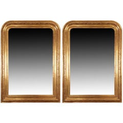 Faux Pair of Louis Philippe Period Mirrors from France