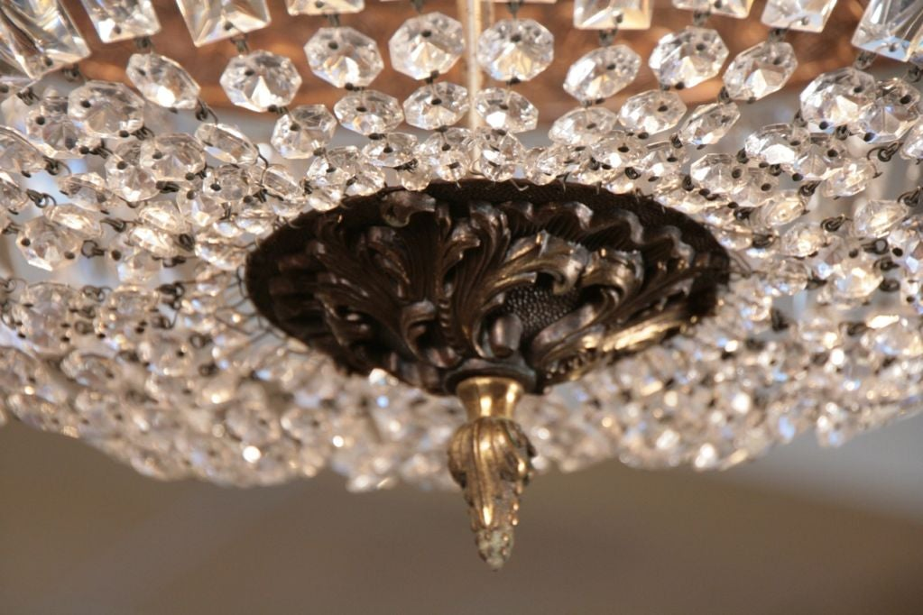 French Antique Directoire Style Chandelier 9