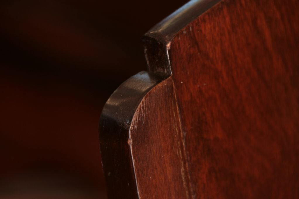 set of six deco rosewood dining chairs at 1stdibs