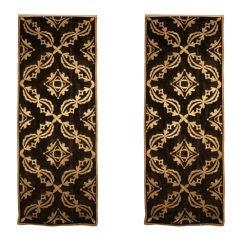 Pair of Antique Portuguese Textiles