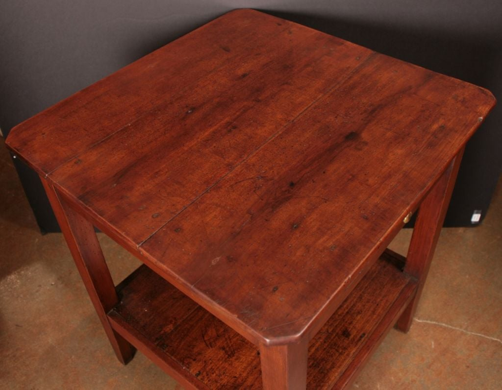 French directoire period cherry wood side table at 1stdibs for Cherry side table