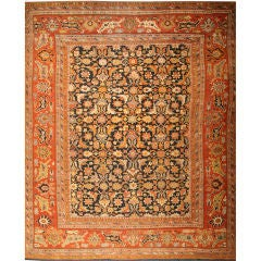 Antique Ziegler Sultanabad Rug