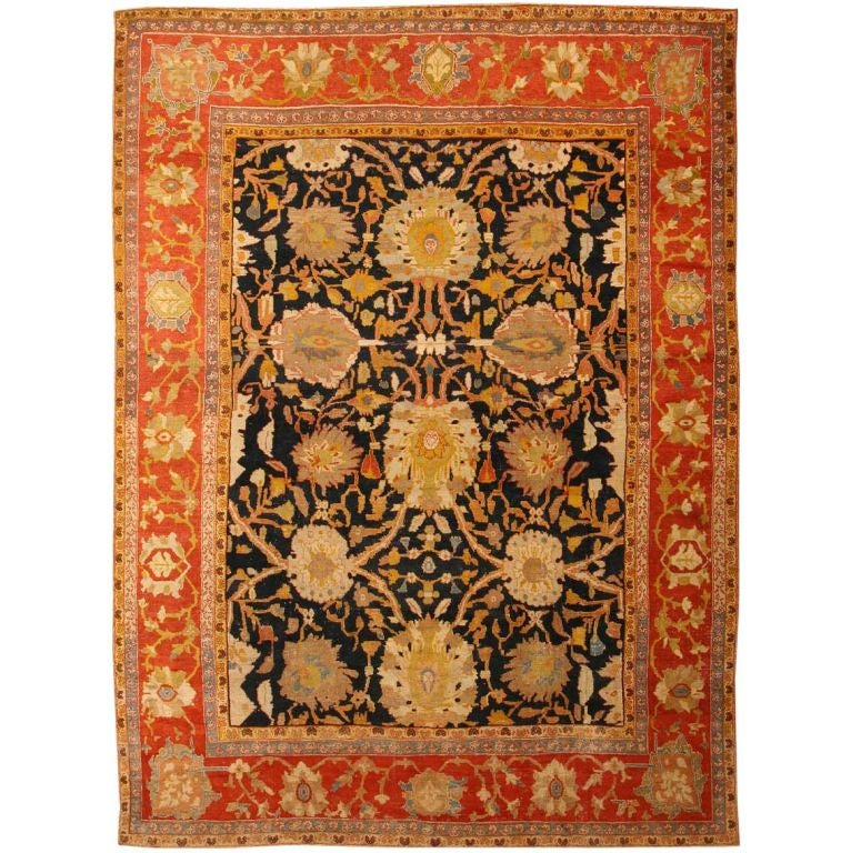 Antique Sultanabad Rug / Carpet from Persia 1