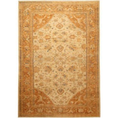 Antique Sultanabad Carpet by Ziegler & Co.