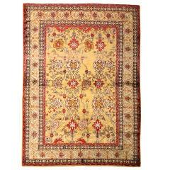 Antique Silk Turkish Carpet
