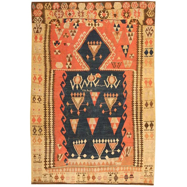 Antique Kilim Prayer Rug At 1stdibs