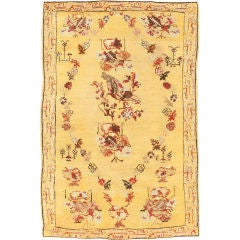 Antique Ghiordes Carpet