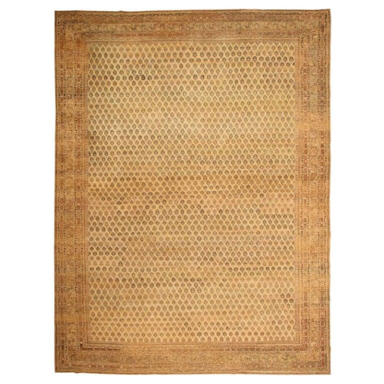 Antique Agra Carpet At 1stdibs