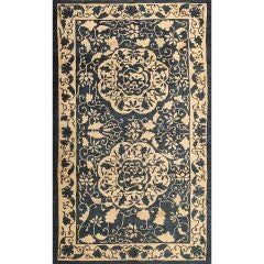 Antique Chinese Rug Size: 4' x 6'6