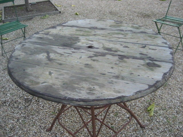 Vintage table de jardin france c 1900 for sale at 1stdibs - Table jardin vintage montpellier ...