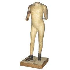 Vintage Mannequin Figurine
