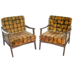 Vintage Swedish Design Chairs, circa 1960