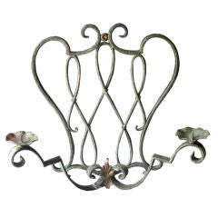 Vintage Iron Sconce