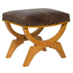 Single Stool Attributed to Andre Arbus