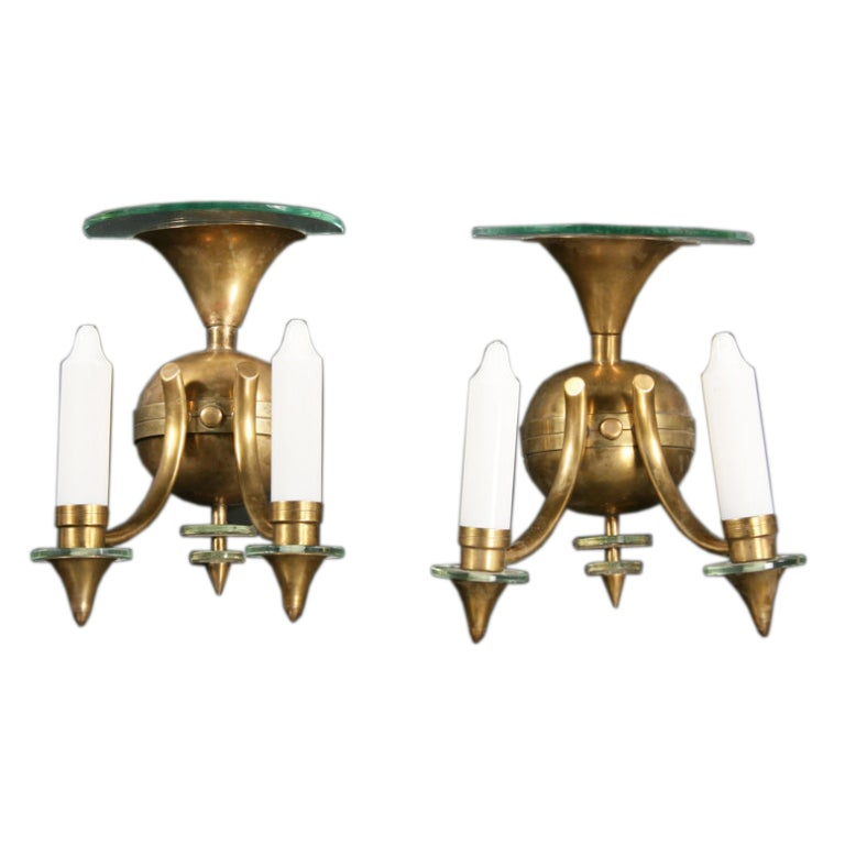 Pair of French Deco Style Sconces