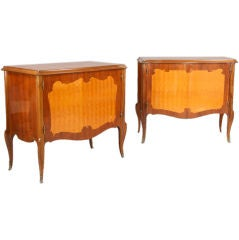 Pair of French Style Commodes