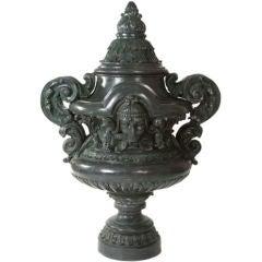 Monumental Bronze Urn