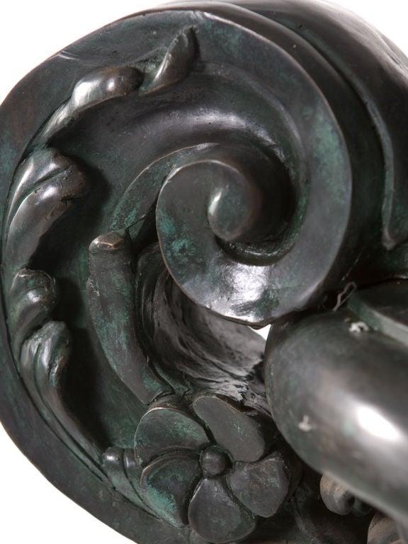 Monumental Bronze Urn For Sale 1