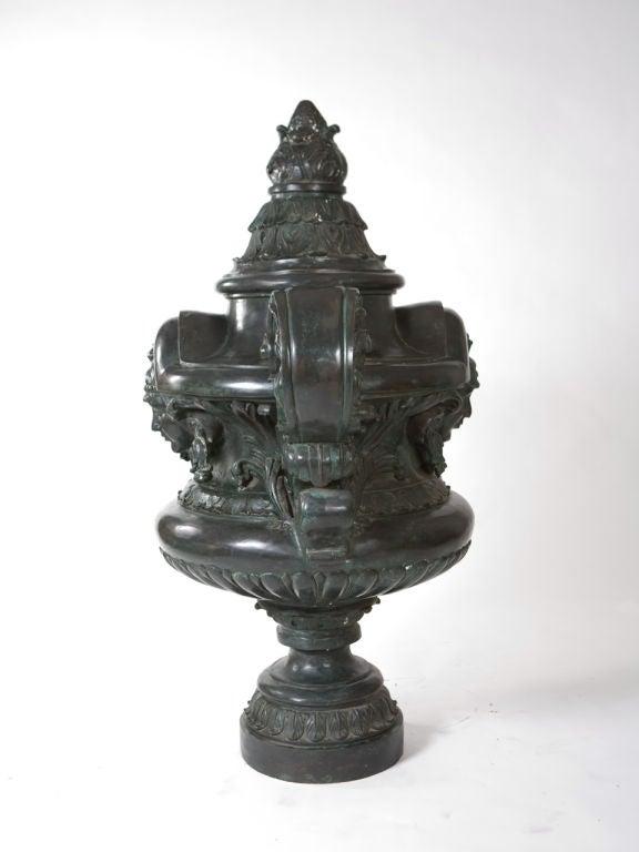 Monumental Bronze Urn For Sale 2