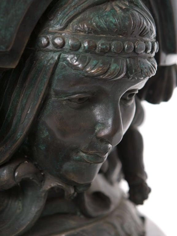 Monumental Bronze Urn For Sale 3