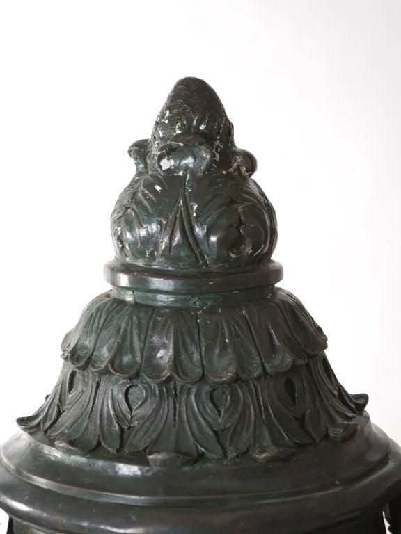 Monumental Bronze Urn For Sale 4