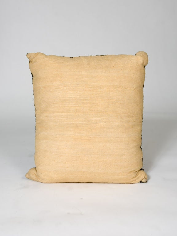 Fabric Empire Style Neoclassical Pillow For Sale