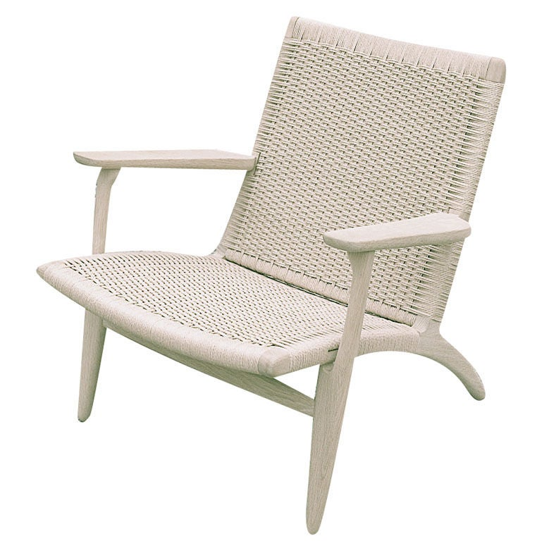 hans wegner ch25 paddle chair at 1stdibs. Black Bedroom Furniture Sets. Home Design Ideas