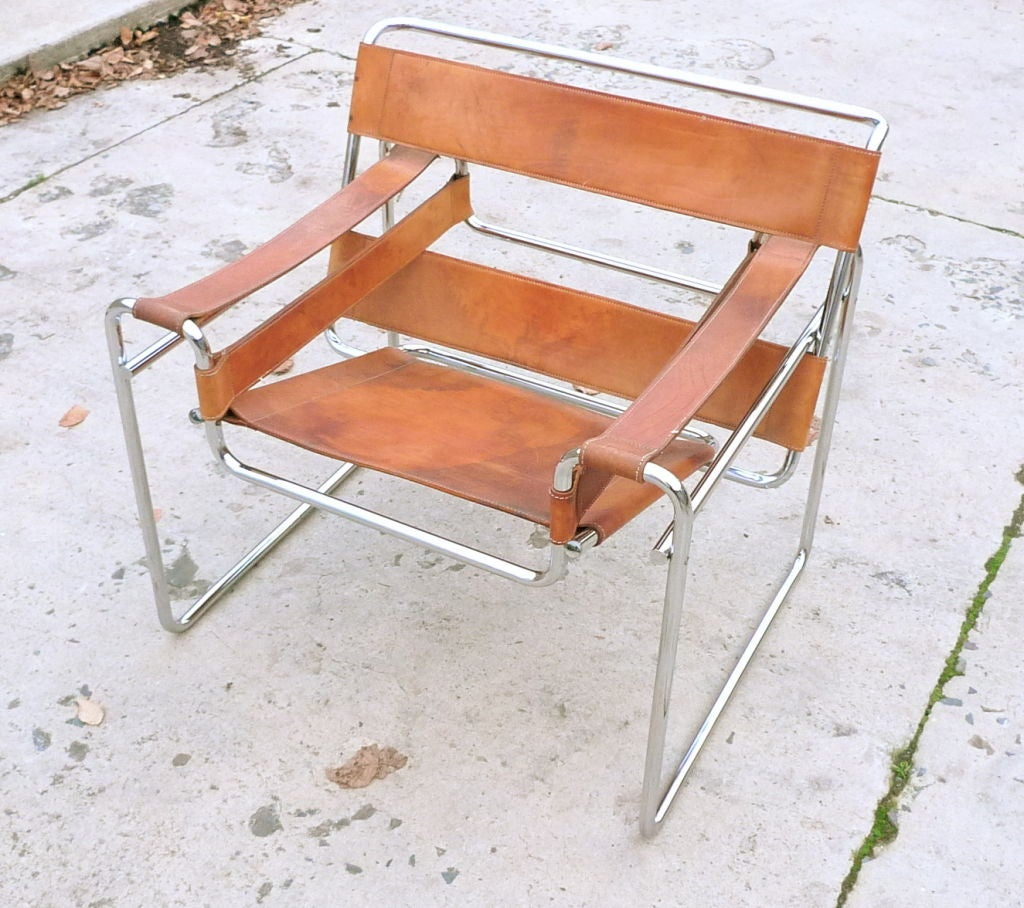 Marcel breuer wassily chair 1927 at 1stdibs - Wassily chair price ...