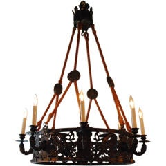 "Antique French ""Renaissance"" Chandelier"