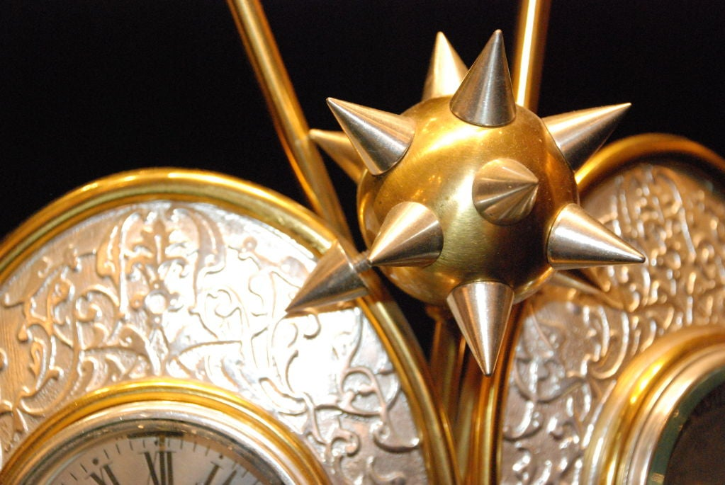 Antique Clock and Barometer For Sale 1