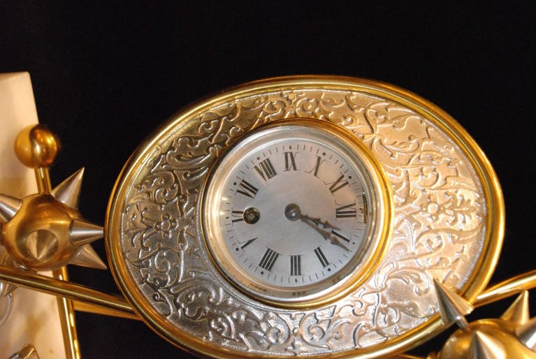 Antique Clock and Barometer For Sale 2