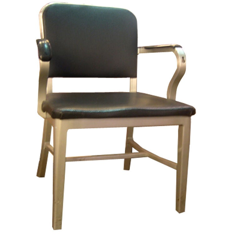 Good Form Metal Arm Chair At 1stdibs