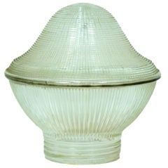 Vintage Holophane Glass Shade
