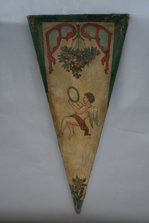 Pair of French Carousel Panels For Sale 2