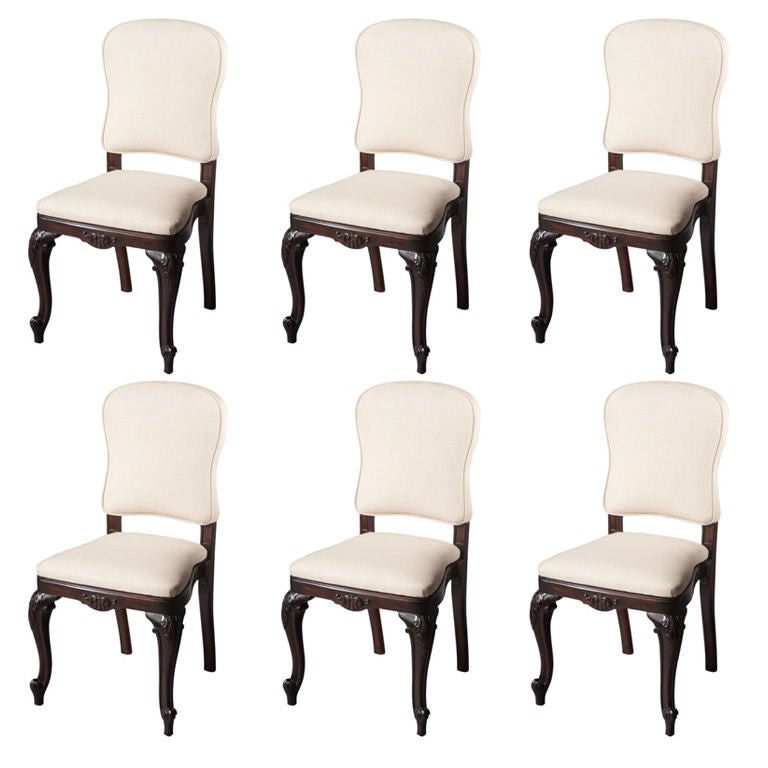 Fine French Dining Chairs Set Of 6 At 1stdibs