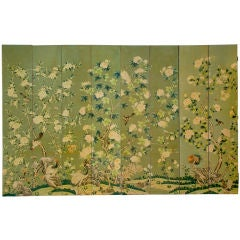 GRACIE Room-sized Hand Painted Wallpaper Screen