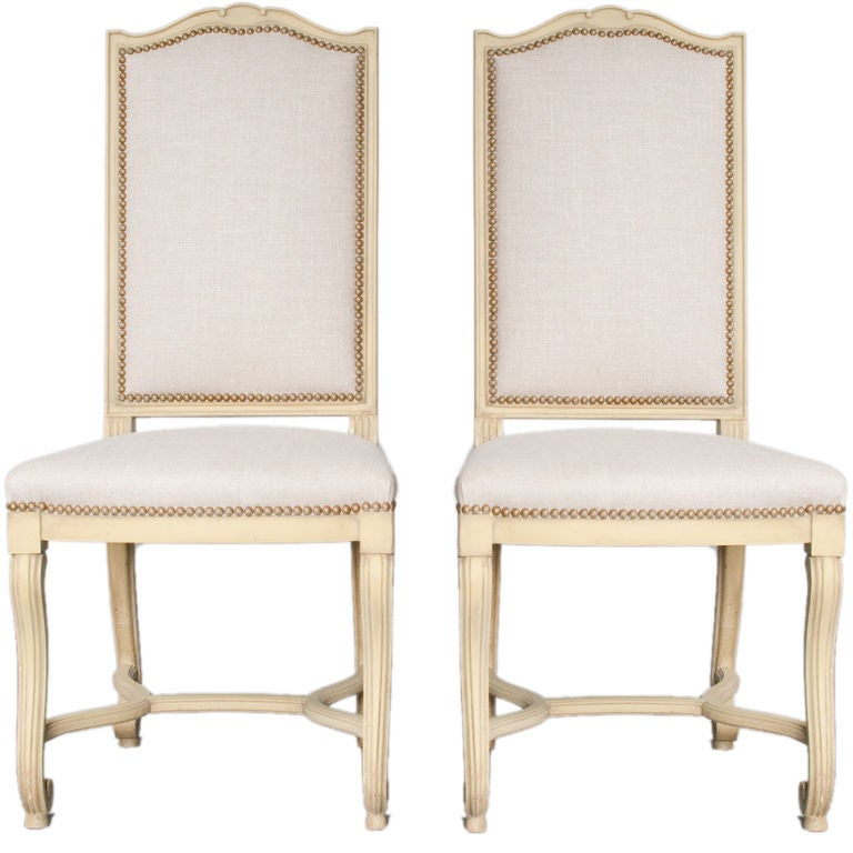eight french style dining chairs at 1stdibs
