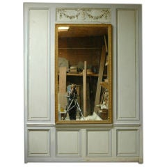 French Pair of Trumeaus in Boiserie