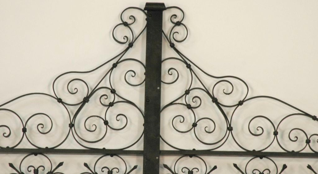 Italian Iron Gate Queen Size Headboard 2