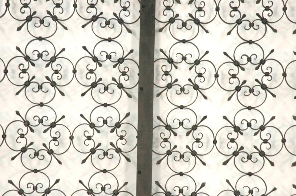 Italian Iron Gate Queen Size Headboard 3