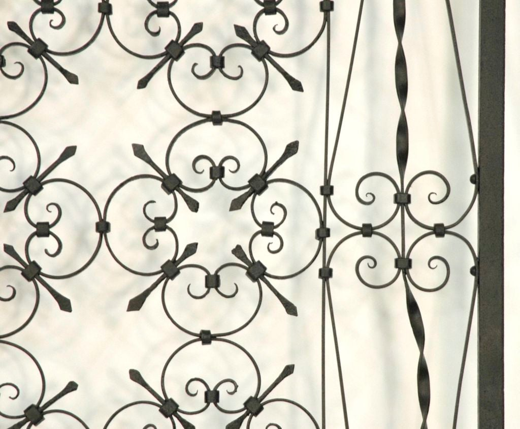 Italian Iron Gate Queen Size Headboard 4